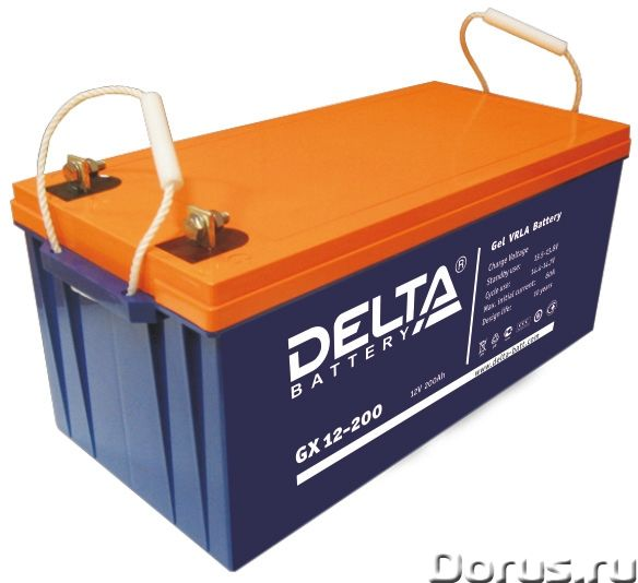 Аккумуляторная батарея DELTA GX 12-200 - Промышленное оборудование - Гелевый аккумулятор DELTA серии..., фото 1